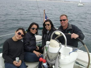Admiralty Sailing Charter in Santa Monica Bay