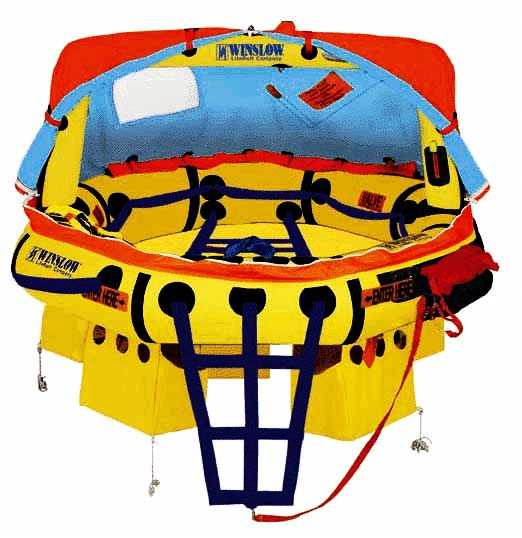 Winslow Liferaft is the ultimate in Safety equipment
