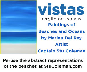 Paintings by Marina del Rey Artist, Stu Coleman