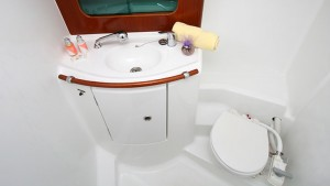 Beneteau 331 Head (Private Bathroom)